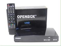 Openbox v8s with 12months DOUBLE gifts.