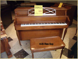 CLOSING DOWN SALE -Al's Piano Shop