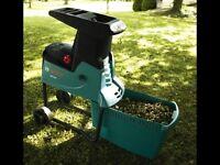 New Bosch AXT 25 D Garden Chipper/Shredder with Collection Box