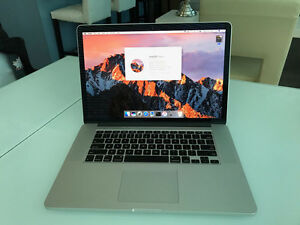 "MacBook Pro Retina 15"" Super Clean Computer at a Great Price"