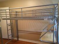Bunk bed with Futon Frame