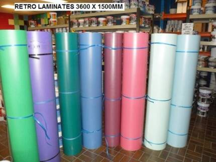 RETRO COLOURED LAMIANTE SHEETS HARD TO FIND