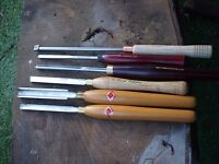 Wood Turning Chisels and Books