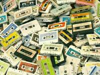 CASSETTE COLLECTIONS WANTED