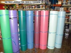 RETRO BENCHTOP LAMIANTE  COLOURS 3.6 X 1.5 METRES IN STOCK NOW Underwood Logan Area Preview
