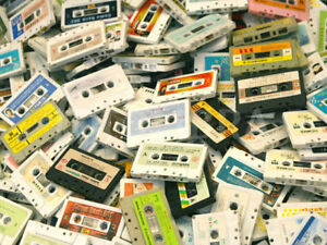 BUYING YOUR OLD CASSETTES $$$ PAID