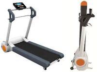 Reebok I-run space saving treadmill