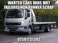 Leeds car van buyers mot failures non runners wanted