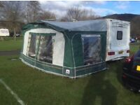 DOREMA CARAVAN AWNING SIZE 8 - 825 to 850 cms comes with inner tent in very good condition.