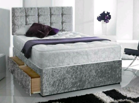 BEDS - 🛌 🛌 🛌 🇬🇧 LUXURY SLEIGH & DIVAN- FREE DELIVERY