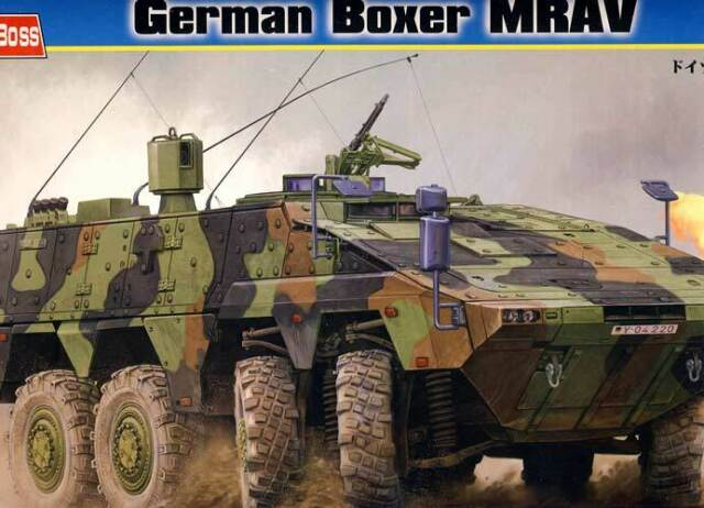 Hobby Boss - German Deutscher Boxer MRAV inkl. Ätzteile Modell-Bausatz 1:35 Tipp