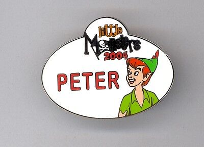 Halloween Event Names (Disney Disneyland Little Monsters Halloween Event Cast Name Tag Peter Pan LE)