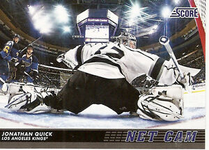 2012-13 Score Hockey Complete Net Cam Card Set (20 cards)