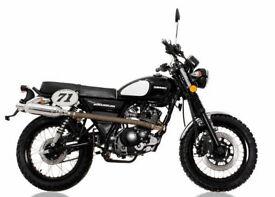 SINNIS Scrambler 125cc Motorcycle Learner Legal