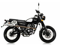 SINNIS Scrambler 125cc Motorcycle Learner Legal