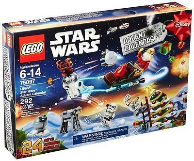 New Lego Star Wars 2015 Advent Calendar 75097 Christmas Countdown Minifigures