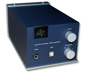 47 Labs Model 4733 PreAmp/DAC/Integrated Amp