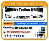 QA Manual, Automation, Mobile, Backend testing training