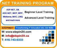 .Net Training Toronto – Hands on Training
