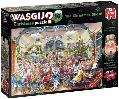 Jumbo 2 x 1000 Piece Jigsaw Puzzles - Wasjig Christmas 16