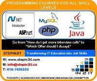 Job oriented IT Training programs