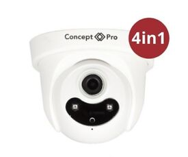 Concept Pro CVP9314DNIR-AHD VR Day-Night Fixed Dome Camera 4MP 2688 x 1512 Resolution 50m IR Range
