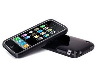 Iphone 3g Full Body - Advanced Accessories - iPhone 3G/3GS Full Body Hard Shell - Clear/Black