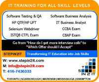 Comprehensive Software QA & Testing Training