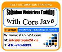 Must read for manual testers. Selenium Training in Toronto