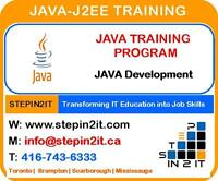 JAVA Training Toronto & J2EE Training Toronto