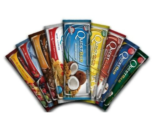 QUEST-PROTEIN-BARS-Box-of-12-Gluten-Free-Sugar-Free-CHOOSE-FLAVOR