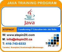 JAVA Training Toronto & J2EE Training Toronto