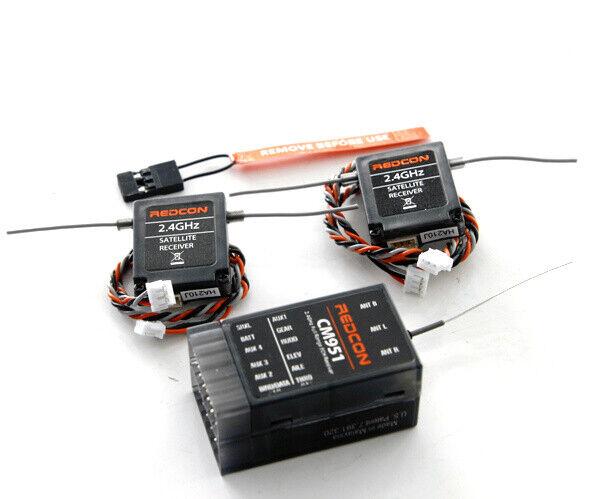 Signalempfänger Kabelleitung Metalldraht AR6200 AR9020 DSMX DSM2 180mm