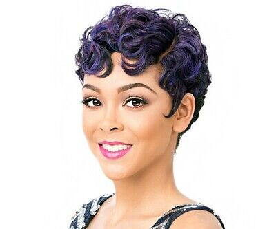 *Limited Time Only* It's A Wig! Real Hair Line Part Synthetic Wig - NUNA](Finger Wave Wig)