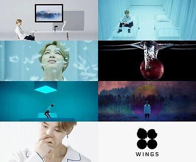 BTS-[WINGS] 2nd Album Random Ver. CD+1p Card+PhotoBook+Gift+Tracking