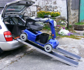 7ft long Heavier duty electric scooter mobility access ramps
