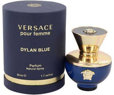 VERSACE Dylan Blue Pour Femme Eau de Parfum 1.7oz /50 ml New in Sealed Box