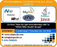 Job oriented IT Training programs
