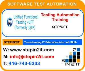 Learn Testing automation today – Job Sustenance Training - QTP T Oakville / Halton Region Toronto (GTA) image 1