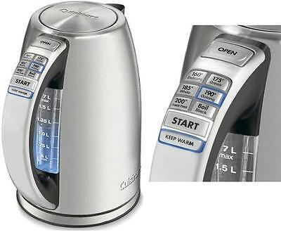 Cuisinart 1.7-Liter Stainless Steel Cordless Electric Water Tea Kettle cpk-17-FR