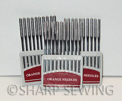 30 NEEDLES 135x17 #18 fits SAILRITE 111 WALKING FOOT