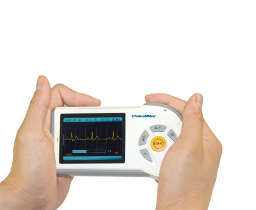mobiles EKG Elektrokardiogramm Herz Gerät ECG Heard Observer Cardio Zubehör Neu!