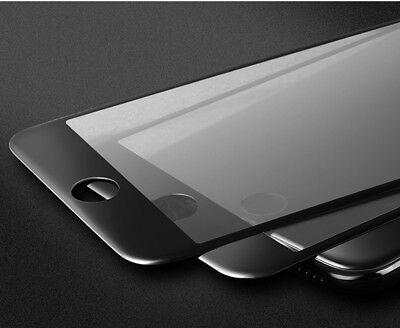 2x 3D Panzer Glasfolie für iPhone 7 iPhone 8 Displayschutz Panzerfolie SCHWARZ