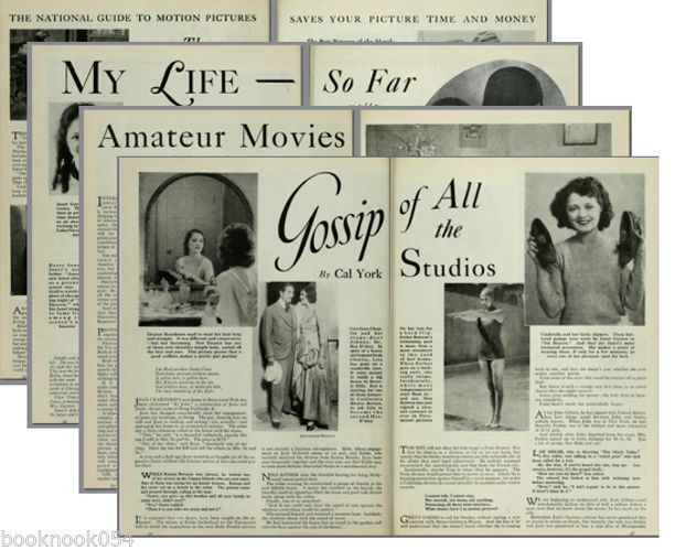 Photoplay Fan Magazine Collection 1914-1942 370 issues on 2 DVD set
