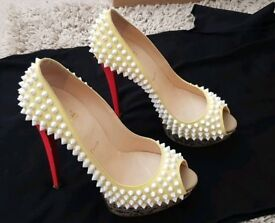 Christian Louboutin Lady Peep Spikes For Sale