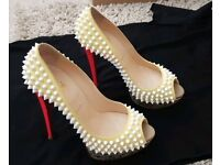 Christian Louboutin Lady Peep Spikes For Sale