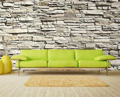 Carta da parati mattone l effetto legno pietra a casa e in