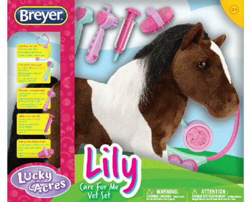 Breyer Horses Plush Lily - Care For Me Vet Set #7296 Interac