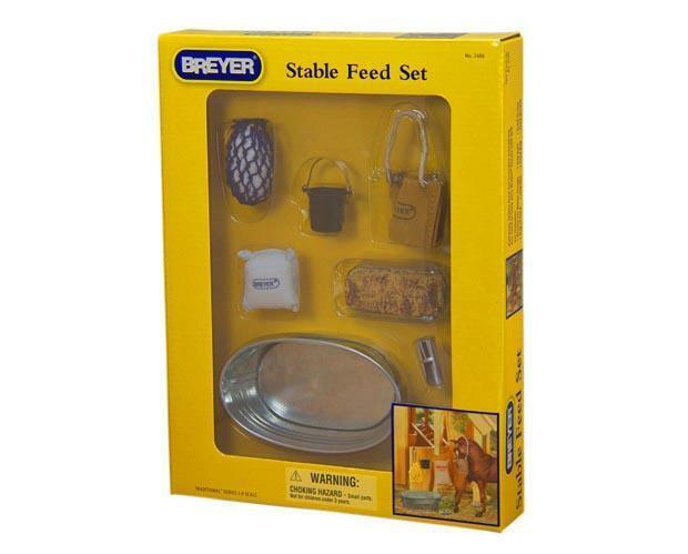 Breyer Horses - Stable Feed Set - Traditional Size