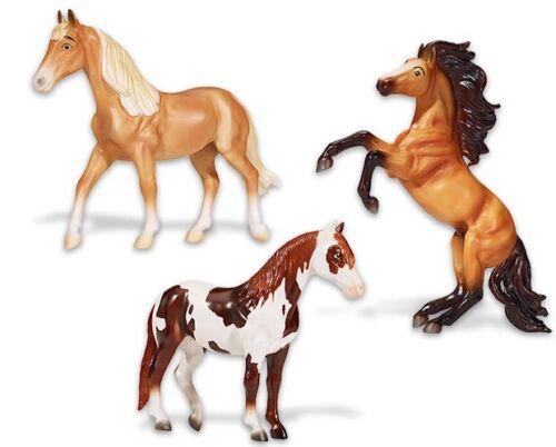 Breyer Horses Spirit & Friends Vinyl Gift Set #9256 - Virtually Unbreakable 3 Pc